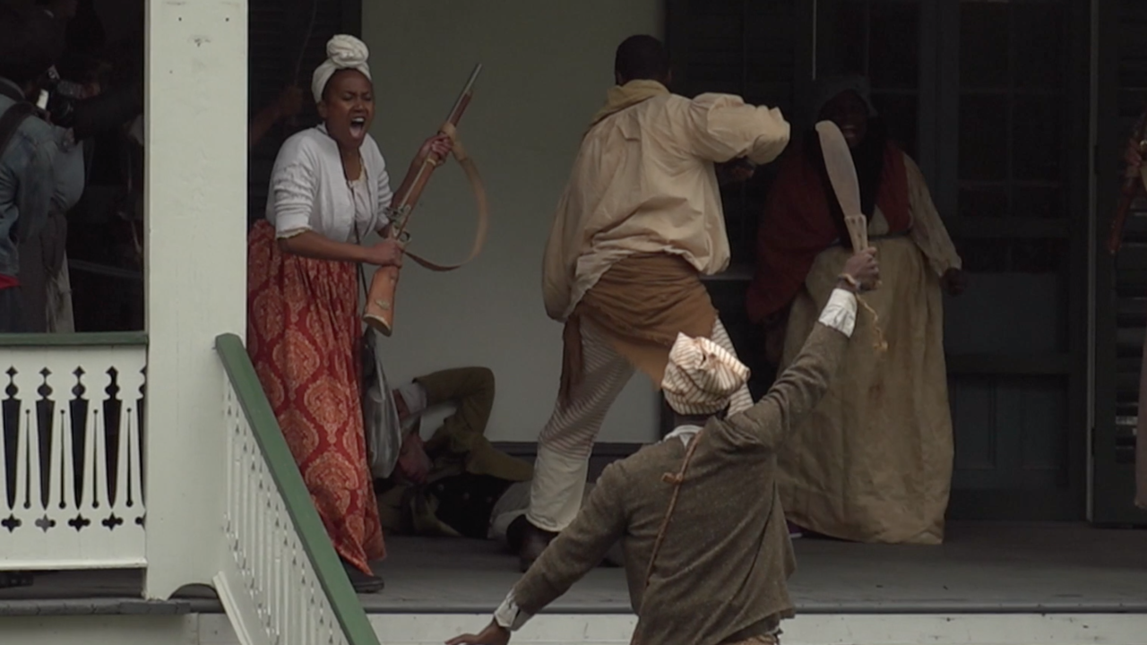 Major slave rebellion reenactment provides a second look at history