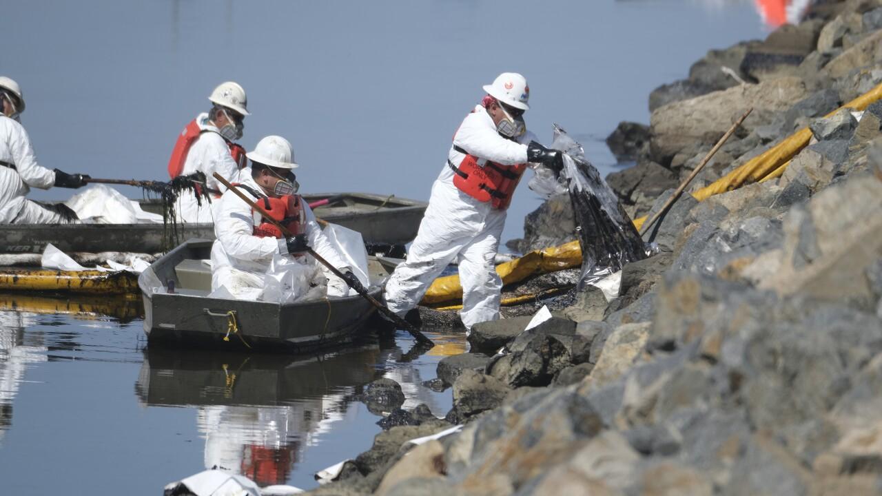 OC Oil Spill