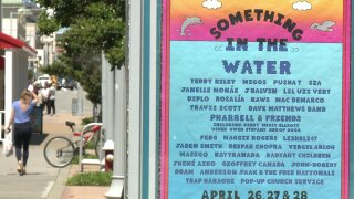 Small business owners preparing for Something in theWater