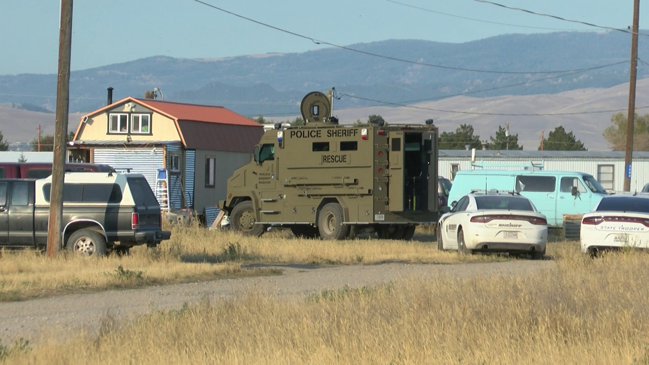 """Suspect in custody after hours-long standoff and firing shots """"indiscriminately"""""""