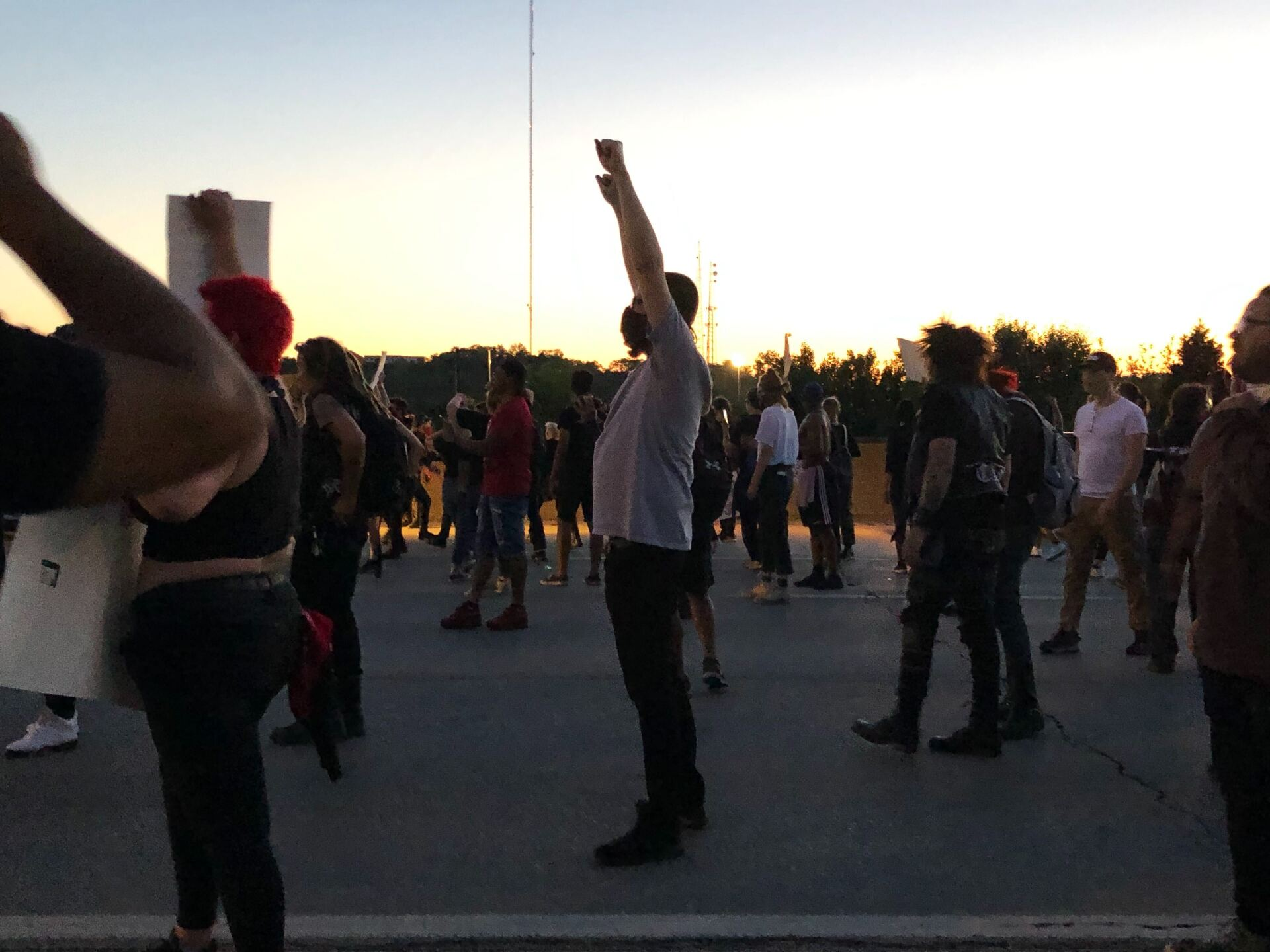 Protesters on I-75.jpg