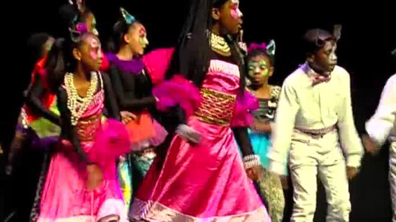 Disney Musicals in Schools held at Kravis Center
