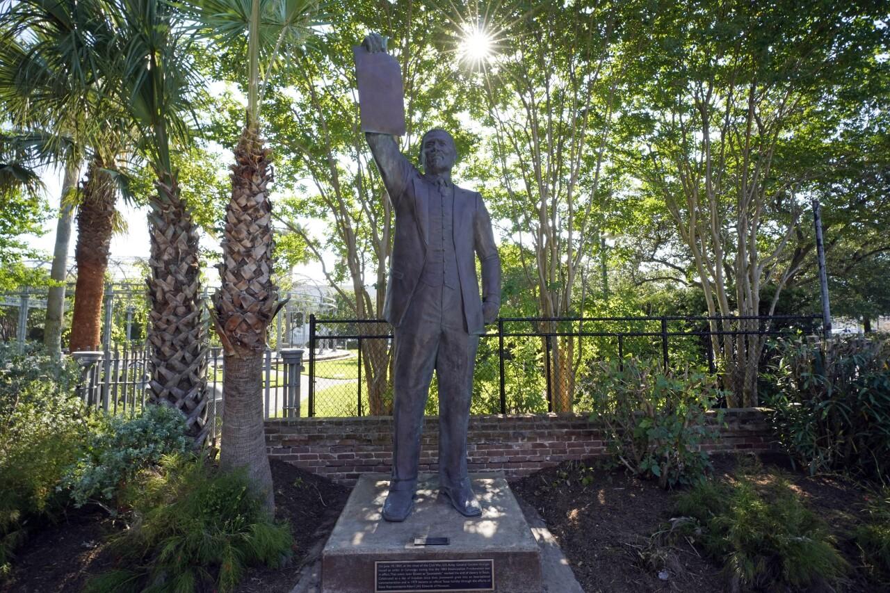 Juneteenth Statue