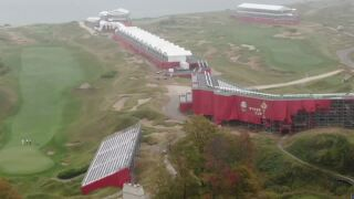 Crews still working to clean up Whistling Straits after Ryder Cup