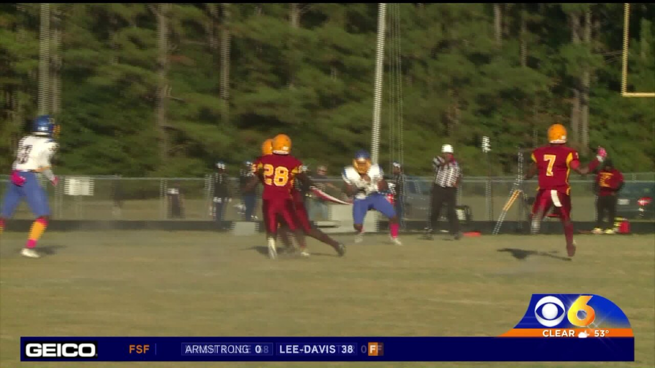 Tre Henderson scores 5 TD's to lead Hopewell pastPetersburg