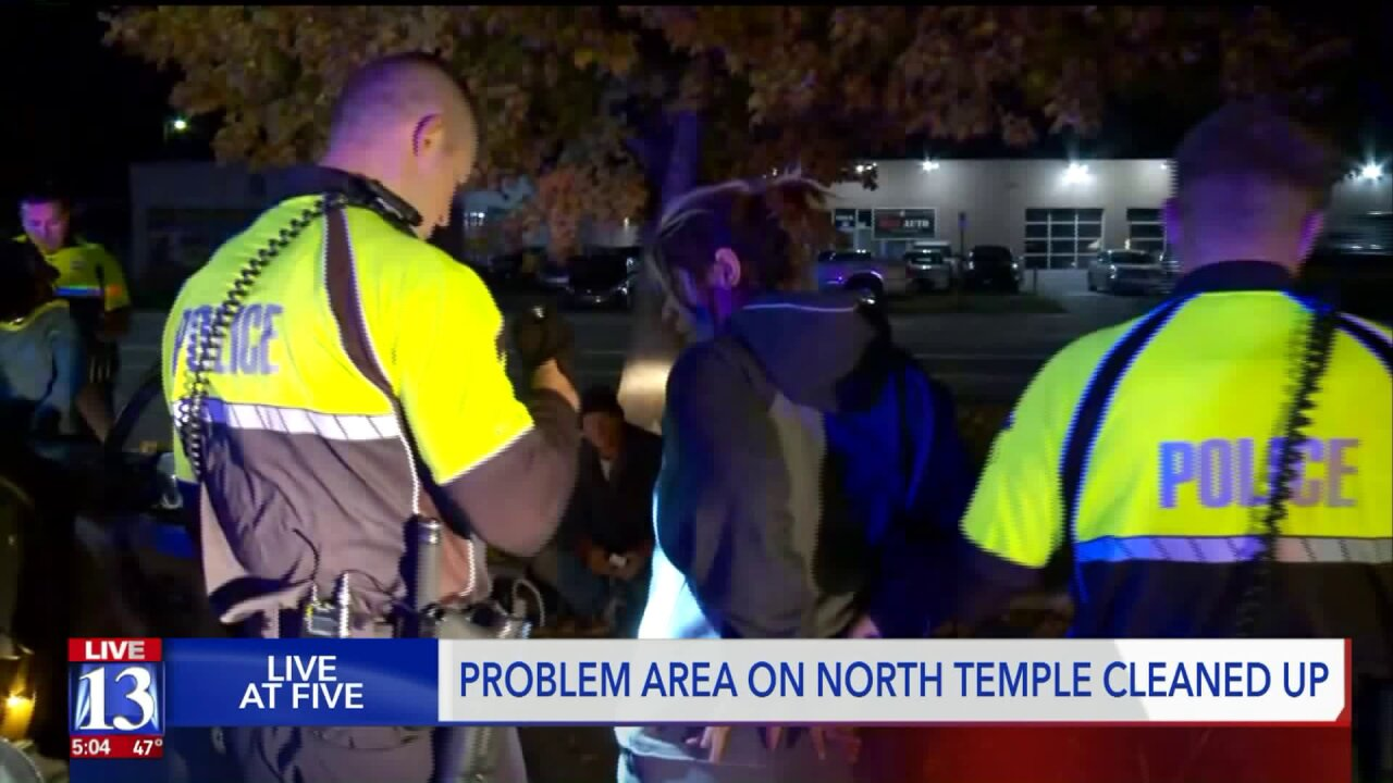 Police clean up North Temple, but say crime has relocated elsewhere