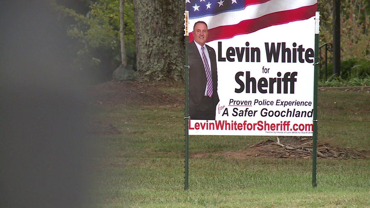 Goochland Sheriff candidate accused of trespassing, posting his campaign sign on private property