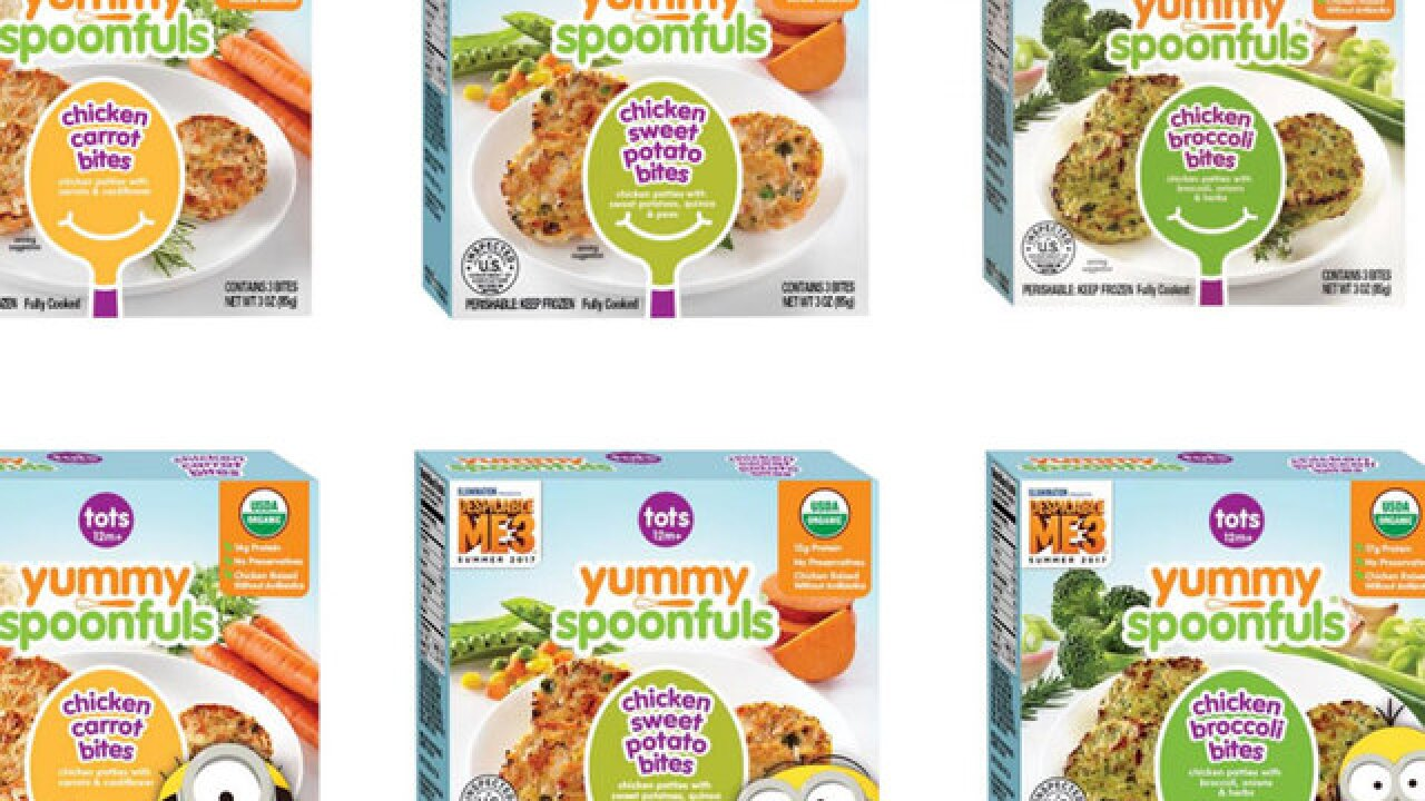 Yummy Spoonfuls baby food recalled for chicken bone fragments