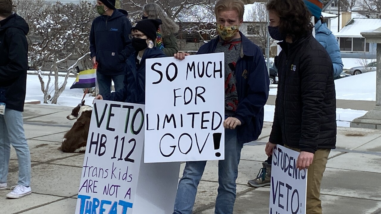 House Bill 112 Protest