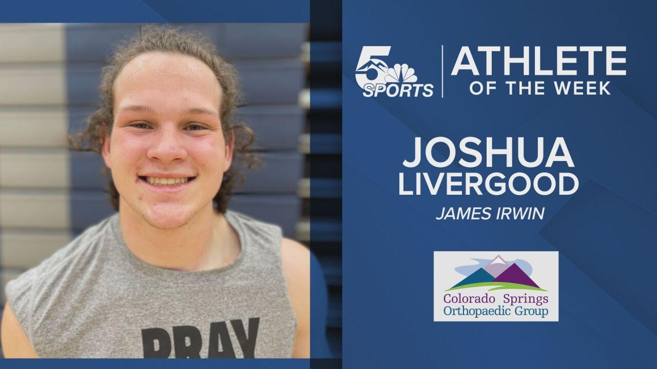 KOAA Athlete of the Week: James Irwin's Joshua Livergood