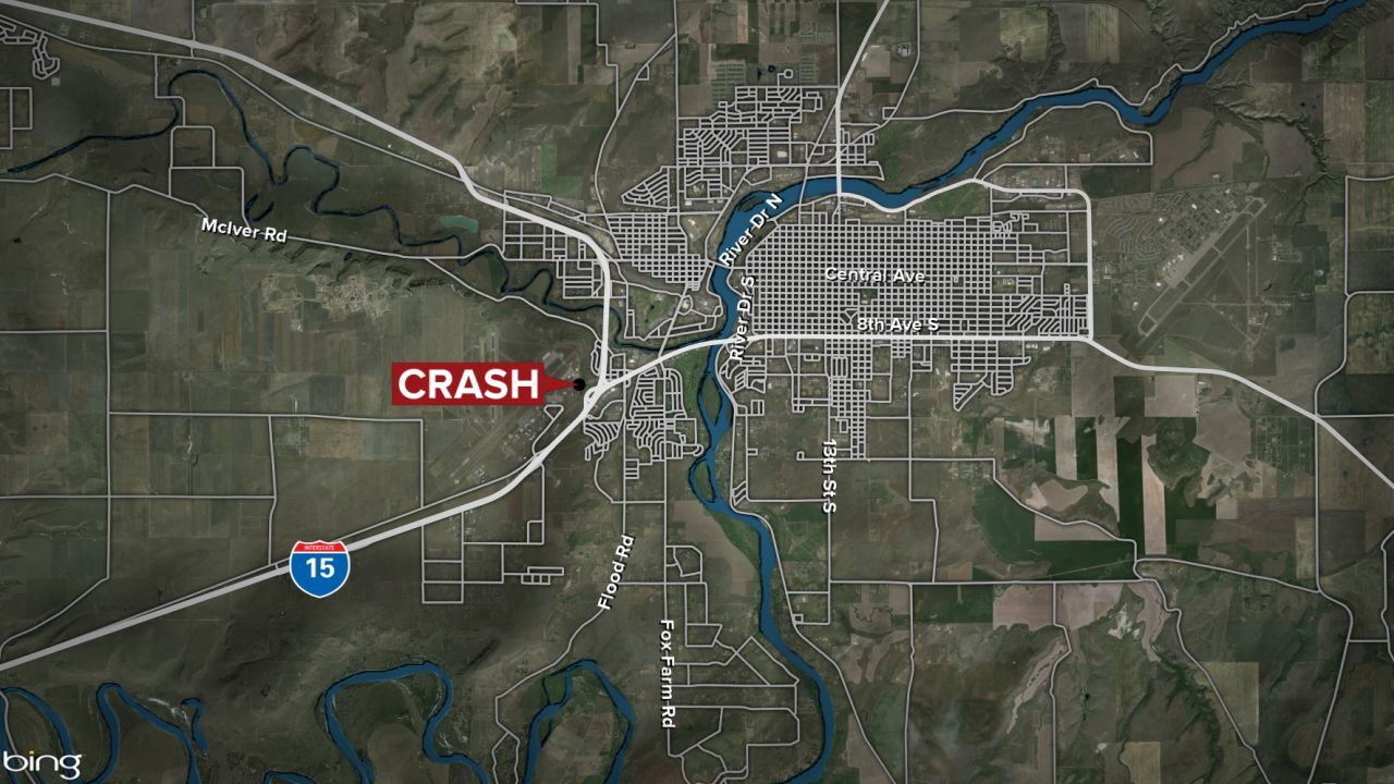 One person dead in overnight crash in Great Falls