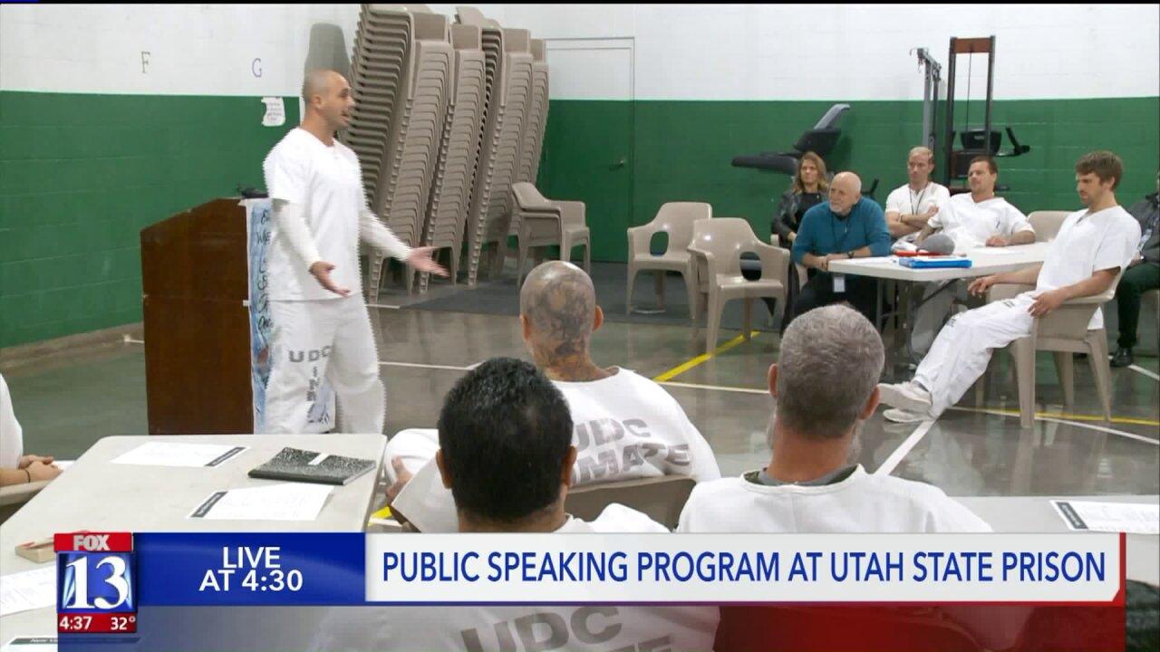 Utah inmates see positive effects of publicspeaking