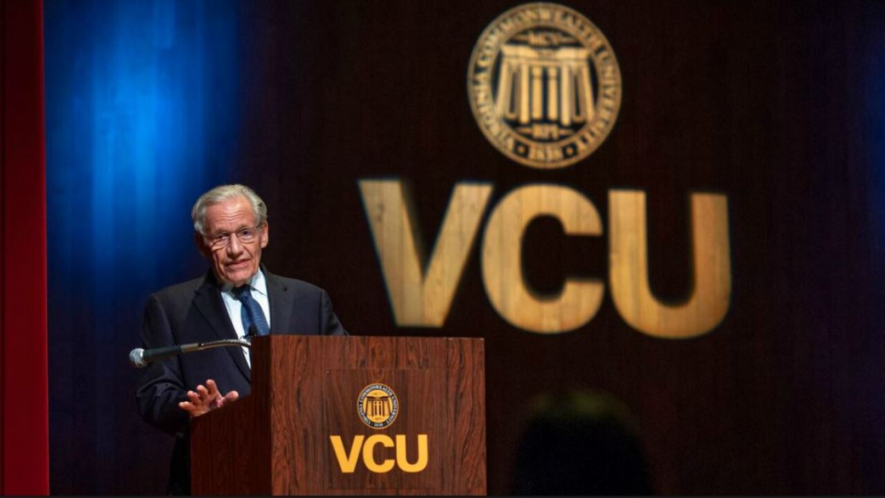 Bob Woodward at VCU: 'We are at a pivot point in history'