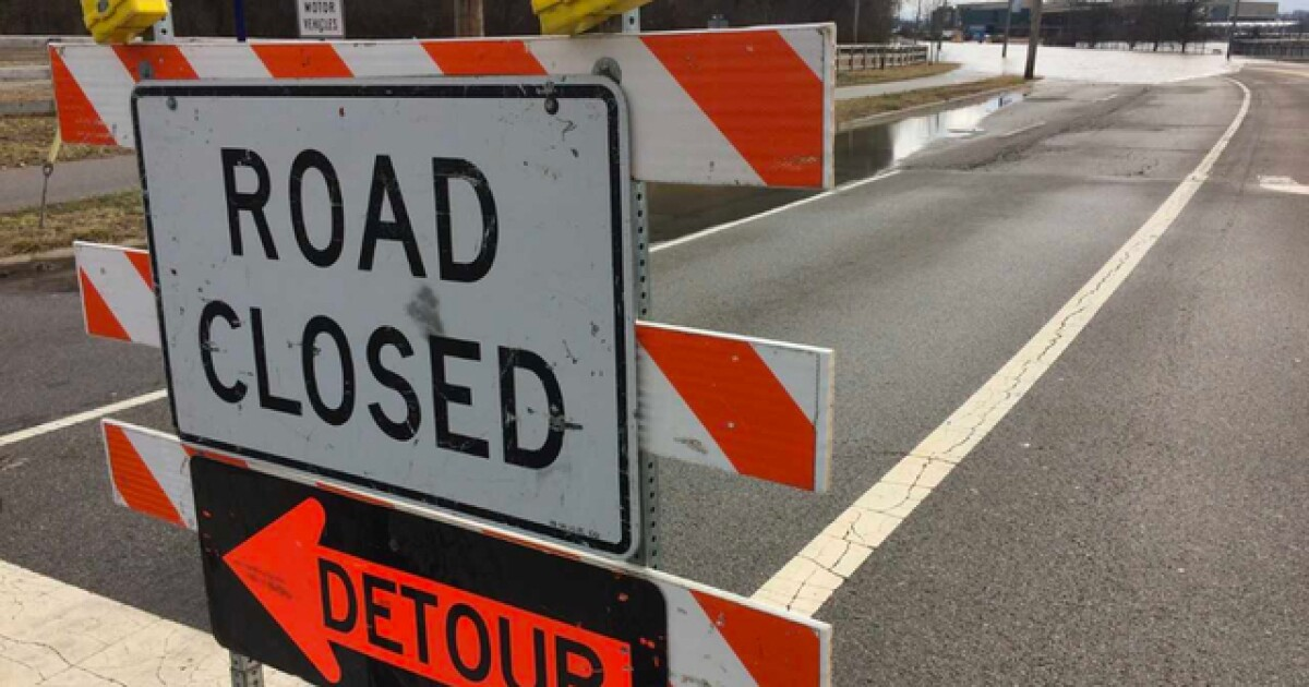 Forget about using these Detroit roads this weekend. They'll be closed
