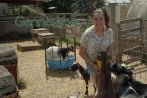Gennevieve dreams of having a mom, dad and sibling to play with every day