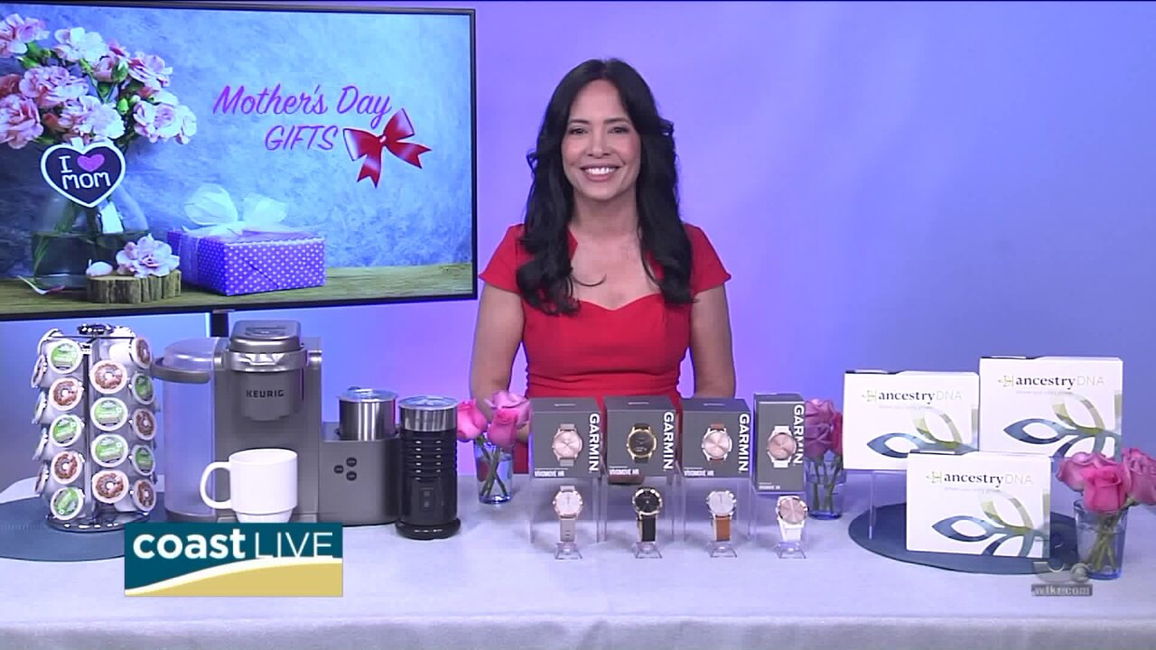 Unique ideas for Mother's Day from a gift history author on Coast Live