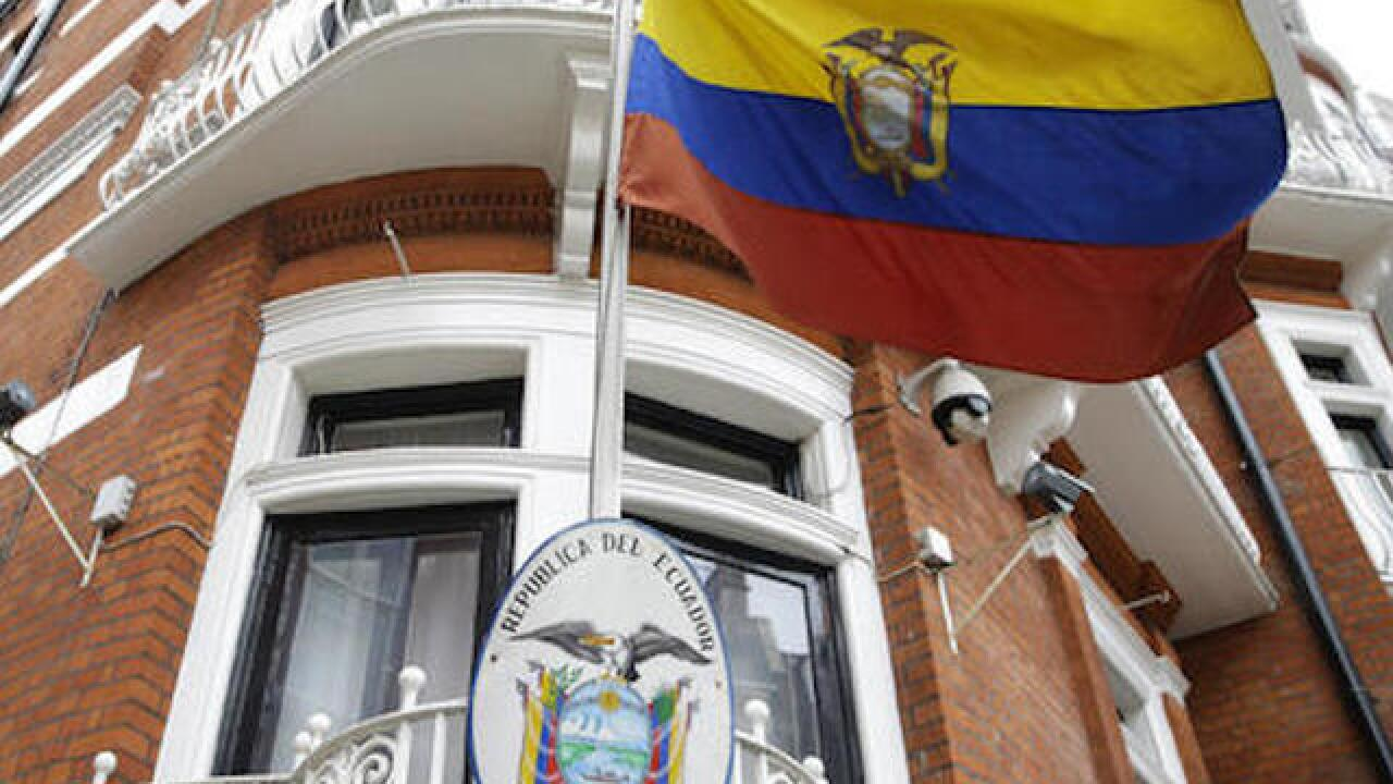 Mystery swirls around Assange's status at Ecuadorean Embassy