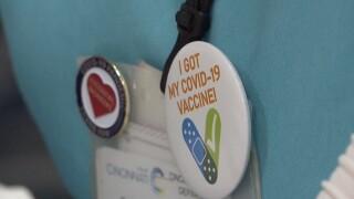 vaccine button