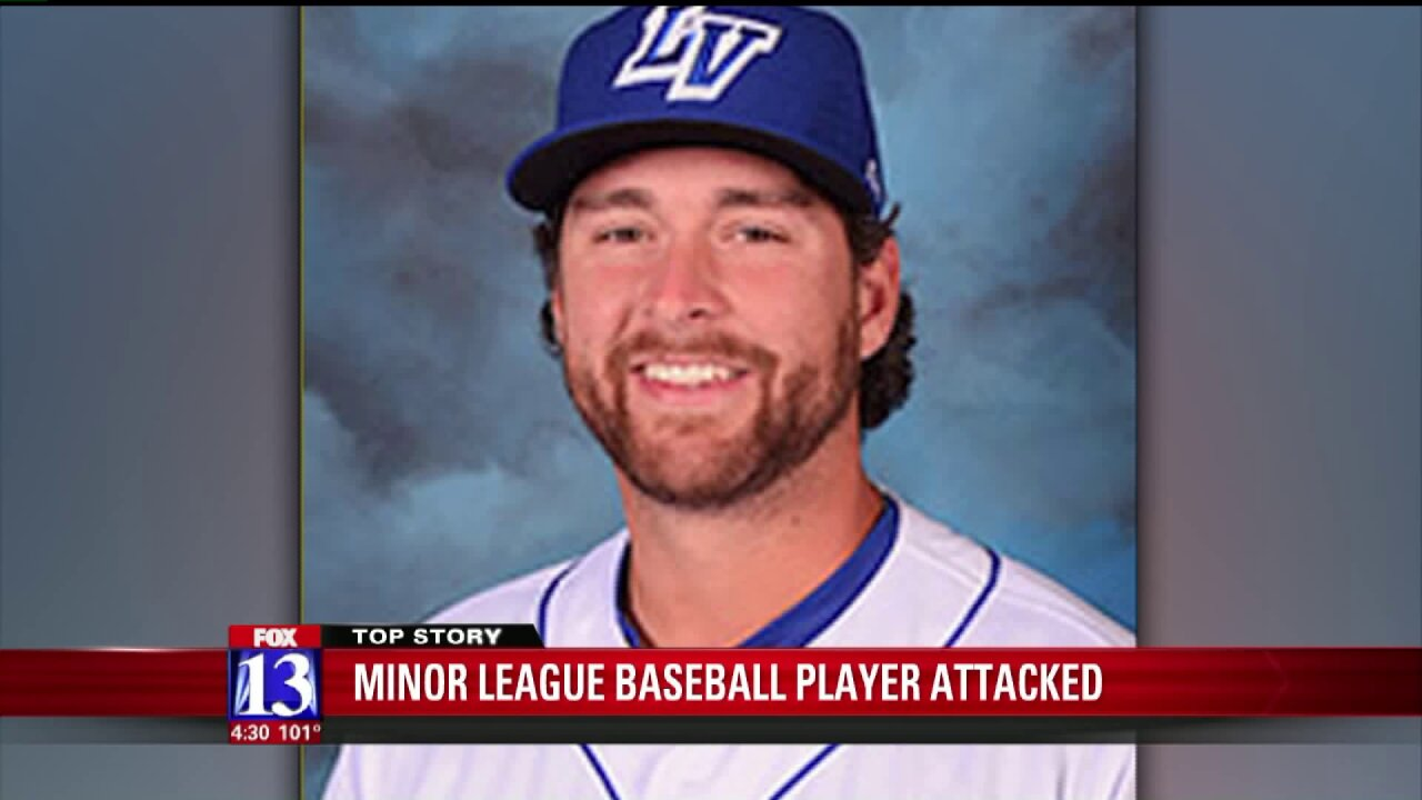 Minor League pitcher attacked by homeless man in Salt LakeCity