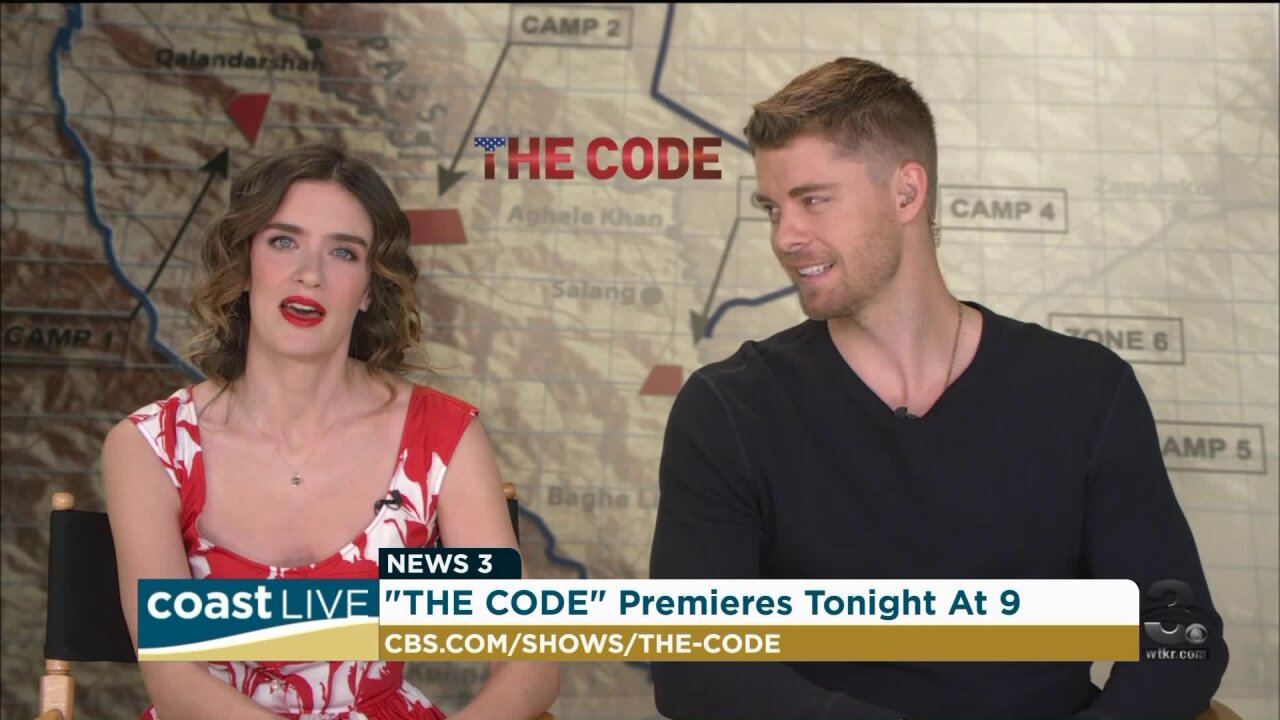 Talking to the stars of a new CBS military drama on Coast Live
