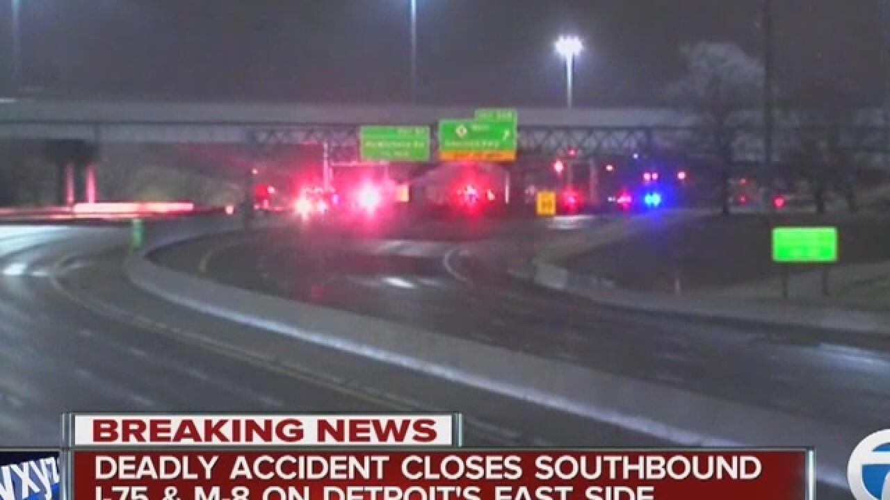I-75 SB closed after fatal accident at Davison