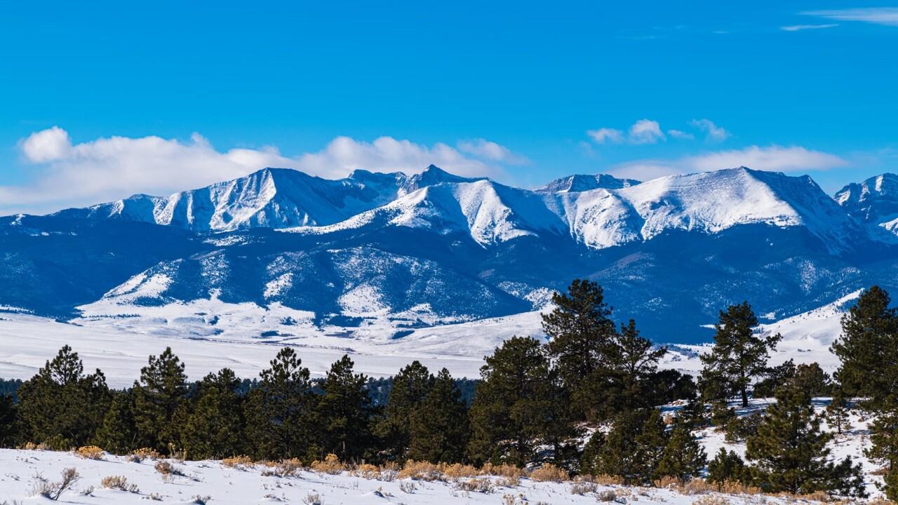 Steve Shugart Westcliffe snowy mountains
