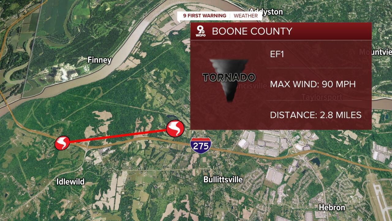 Boone County tornado June 18, 2021