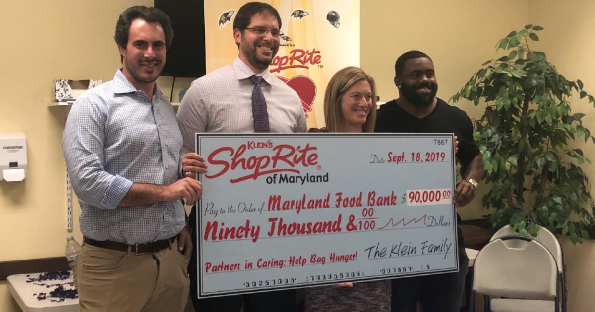 Mark Ingram teams up with ShopRite to 'help bag hunger'