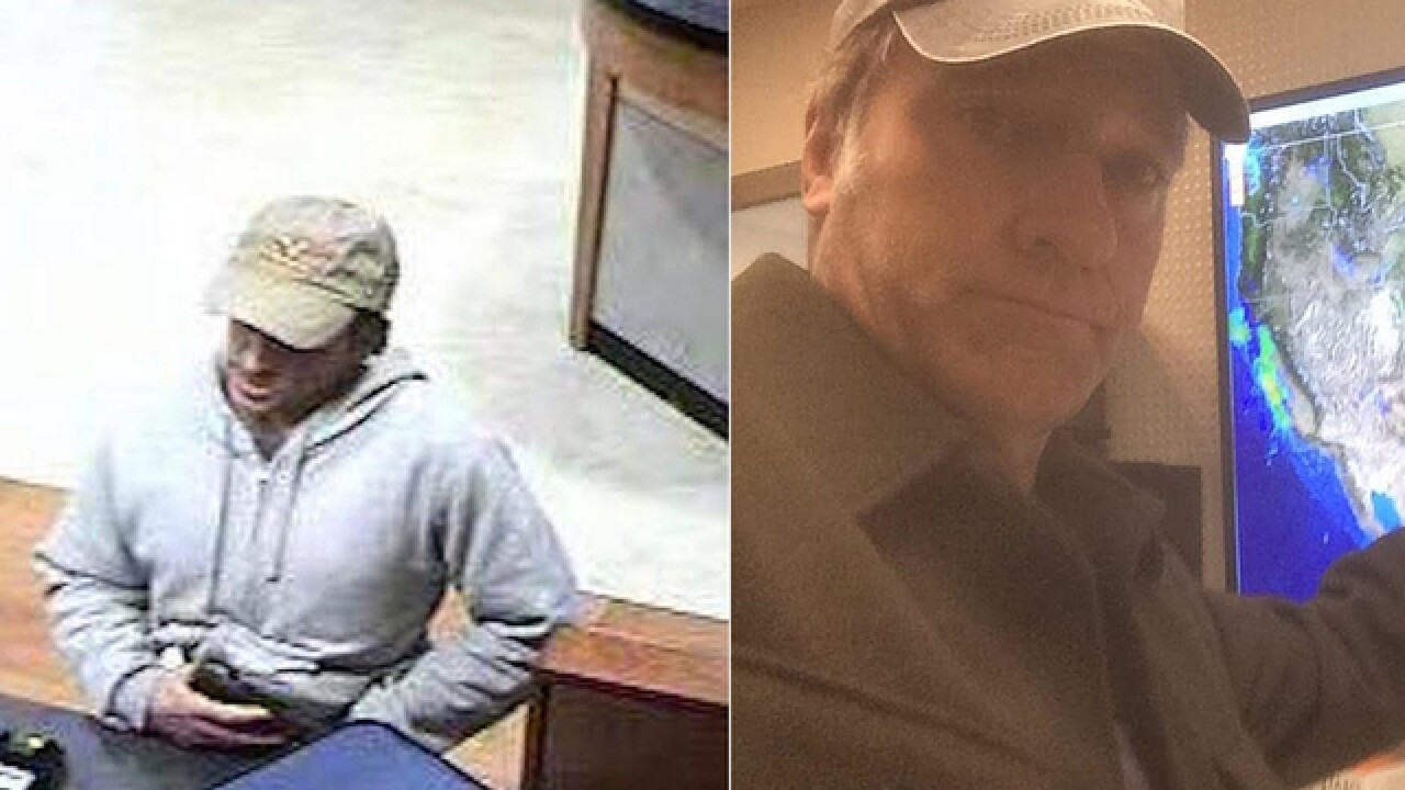 Mike Rowe Doppelganger robs bank