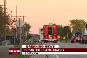 Small plane crashed in Ledgeview area