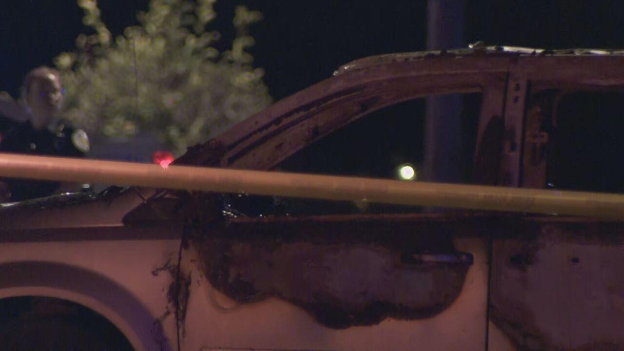 Body found in burning van outside Goodlettsville church