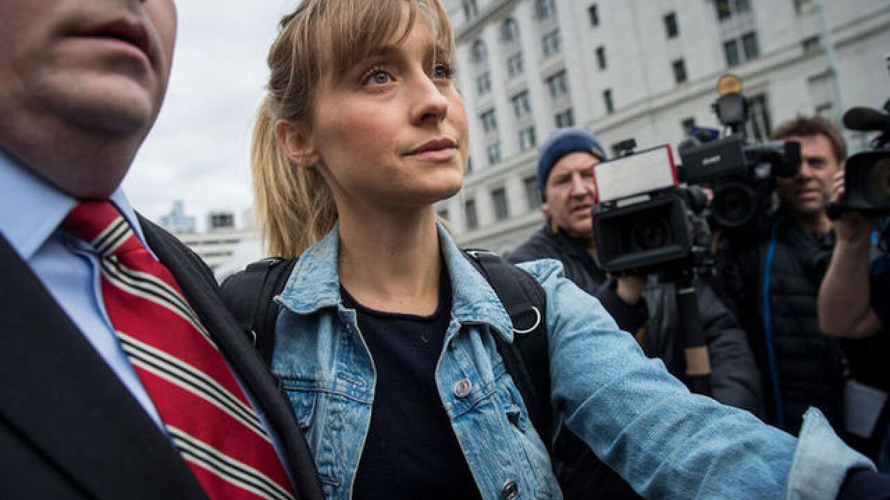 'Smallville' actress Allison Mack granted bail in sex trafficking case