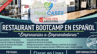 Mesa launches bootcamp in Spanish for restaurants affected by COVID-19