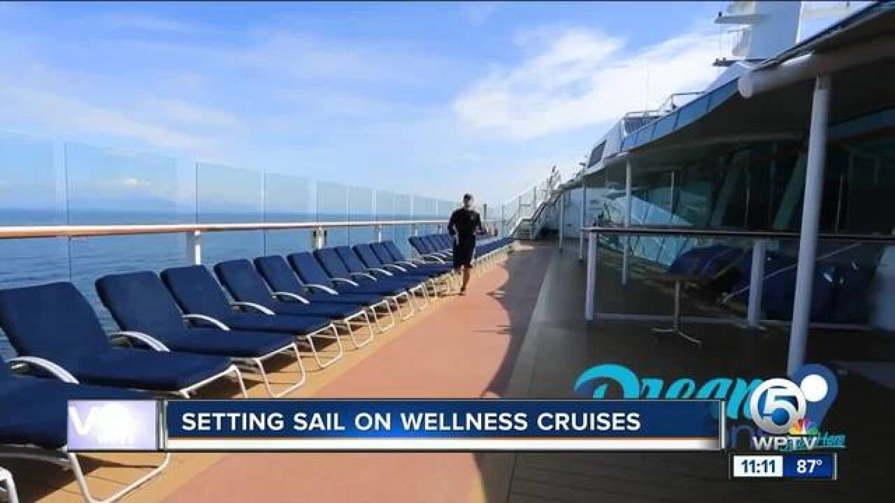 Setting sail on wellness cruises