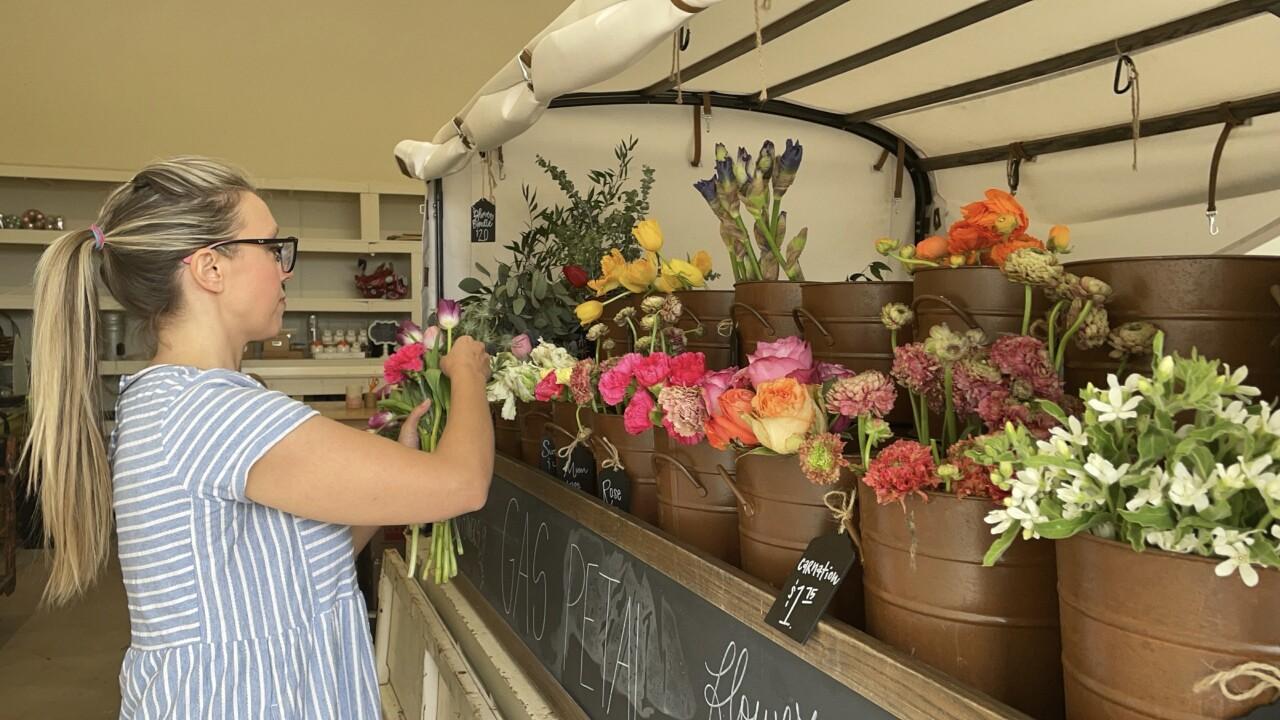 The Gas Petal Flower Truck