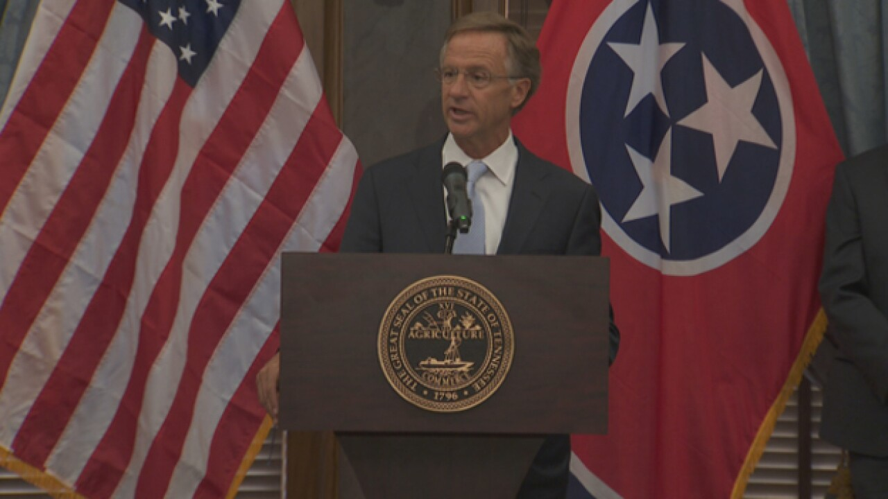 Haslam Announces Listening Tour To Improve Statewide Testing