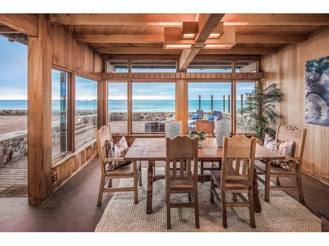 Oceanfront home showcases spectacular sunsets
