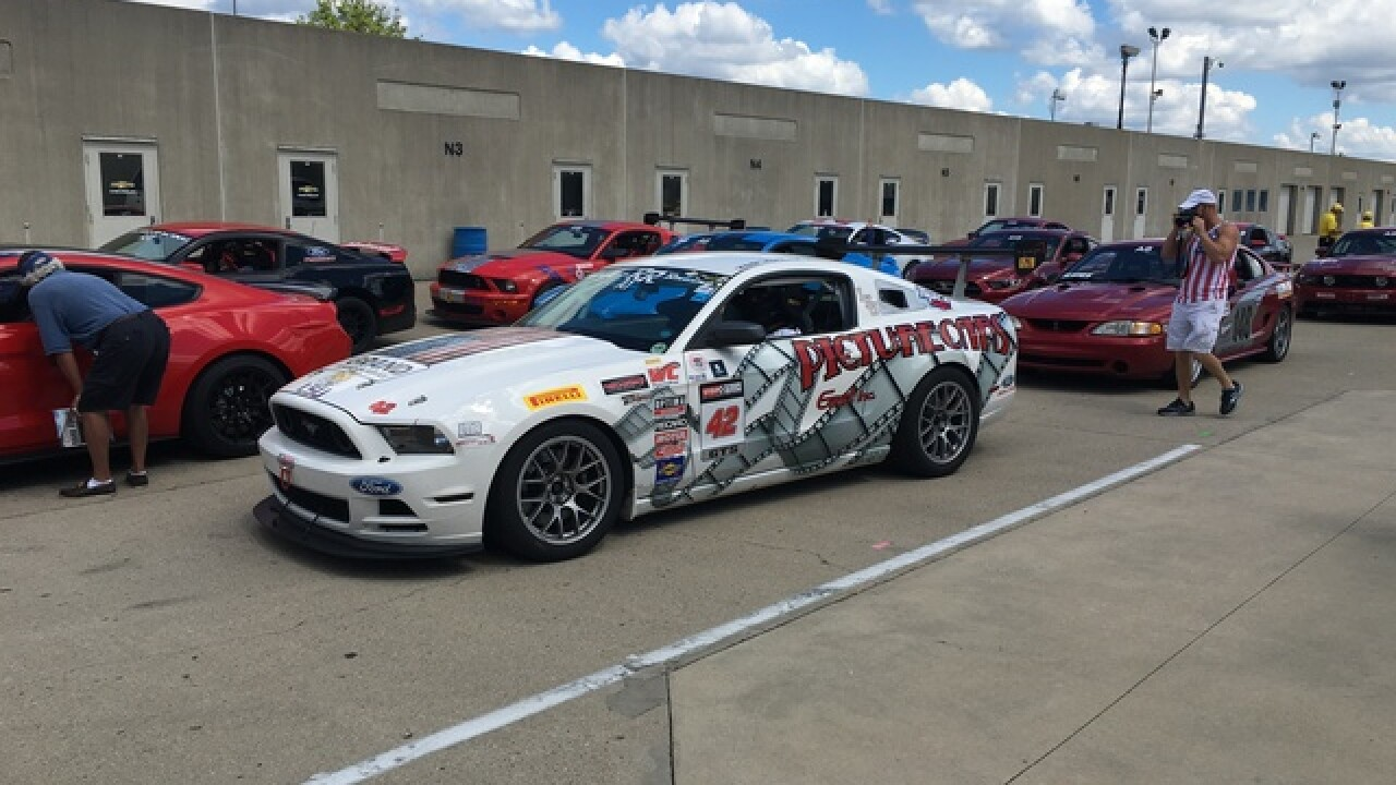 Mustang Club of America at IMS Labor Day Weekend