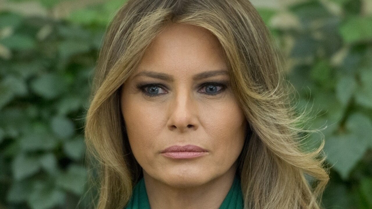 Melania Trump to op-ed writer: You are 'sabotaging' our country