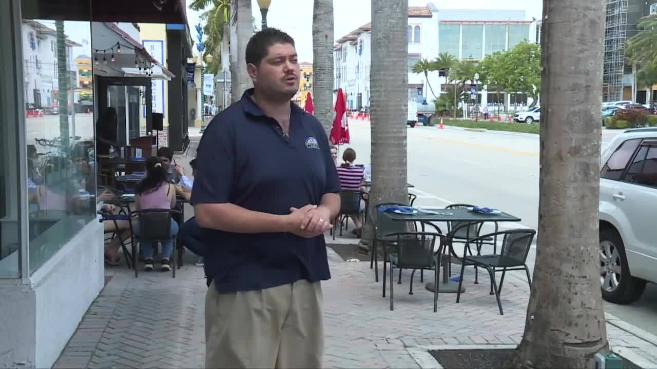 Dan Newman hopes outdoor dining along Atlantic Avenue will become permanent