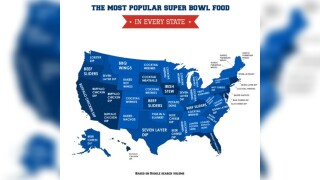 Cocktail wieners top wings for most popular Super Bowl food, study finds