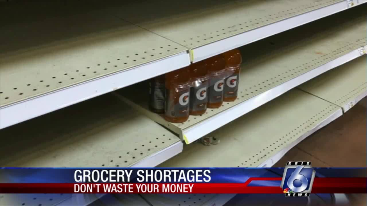 DWYM: Some grocery products getting harder to find
