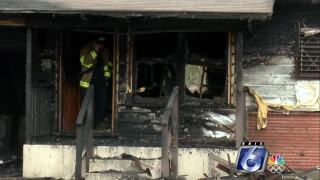 Fire at home of Bobbie Lord