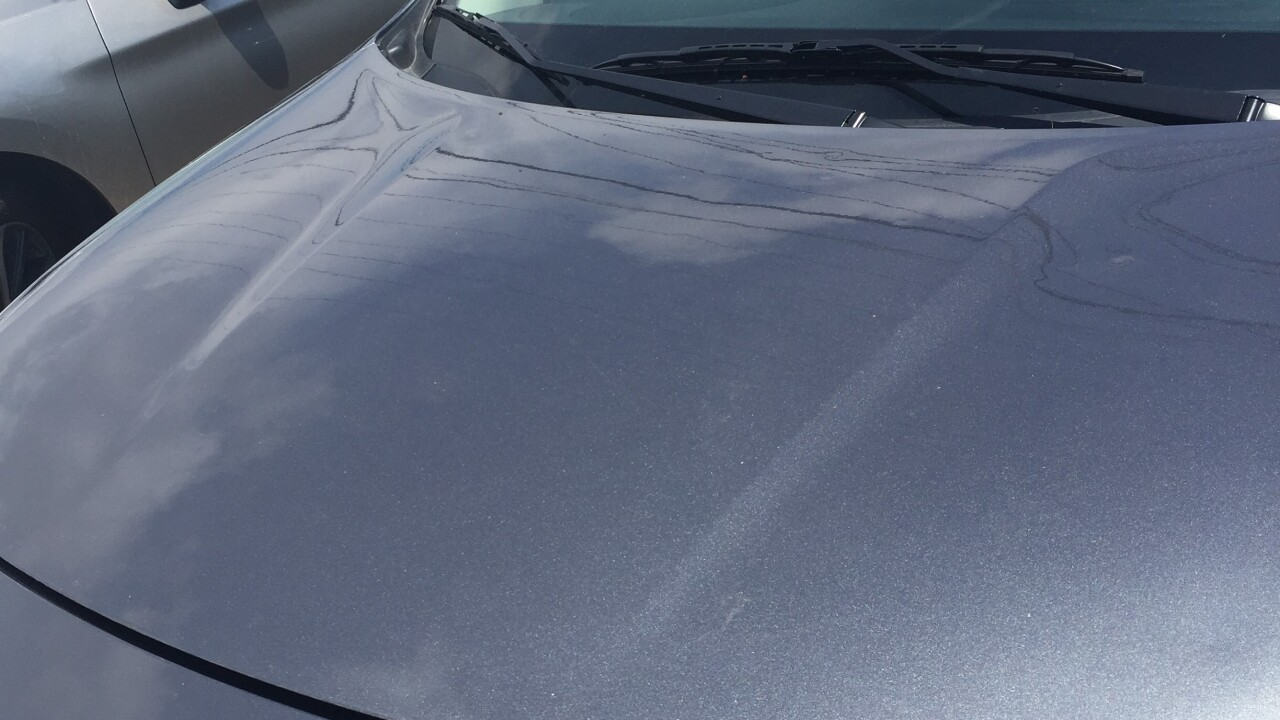 Hail Damage Car >> Nursing Student Says She S Being Charged For Rental Car Hail
