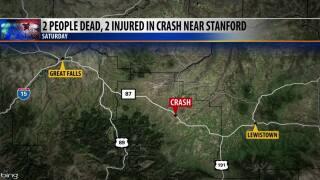 Two women die in crash in Judith Basin County