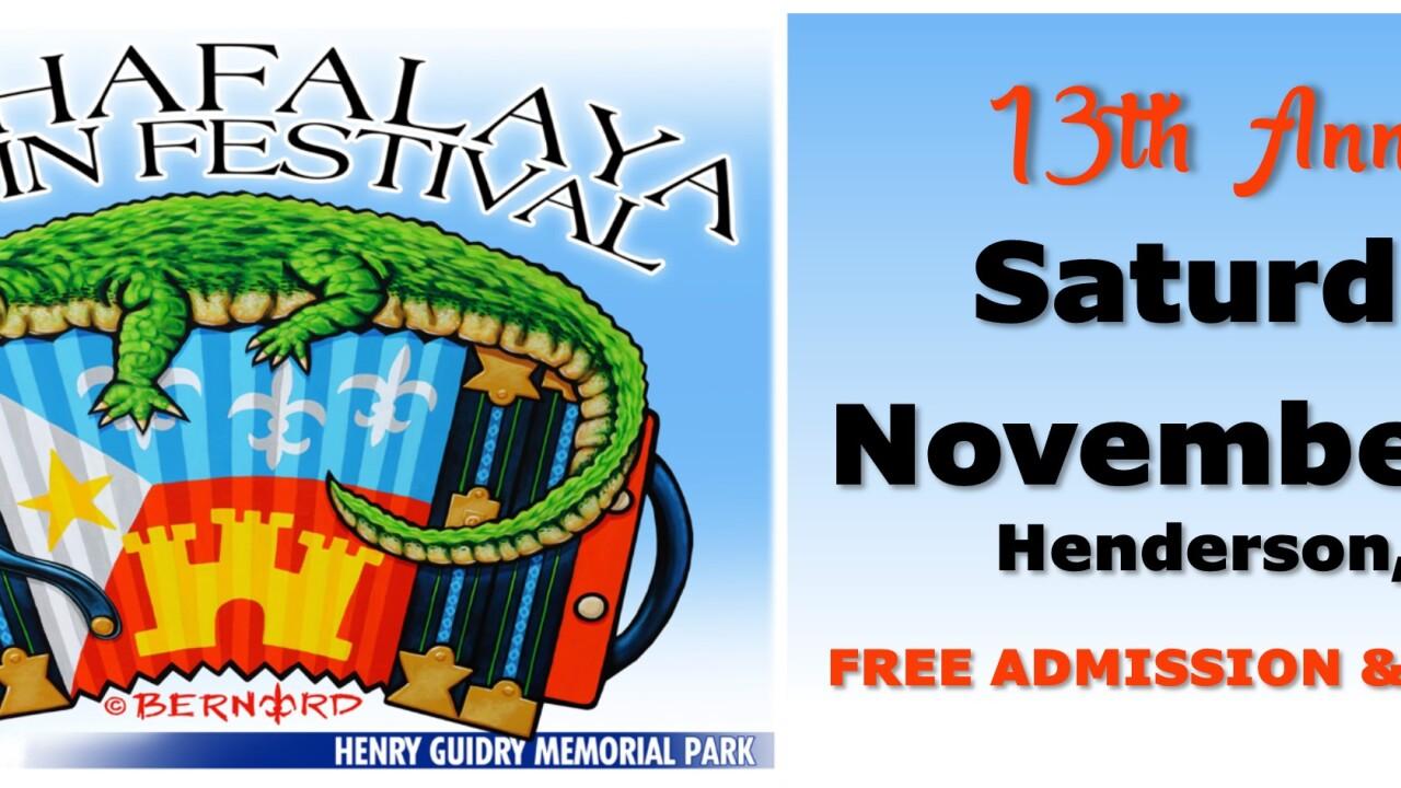 Courtesy Atchafalaya Basin Festival