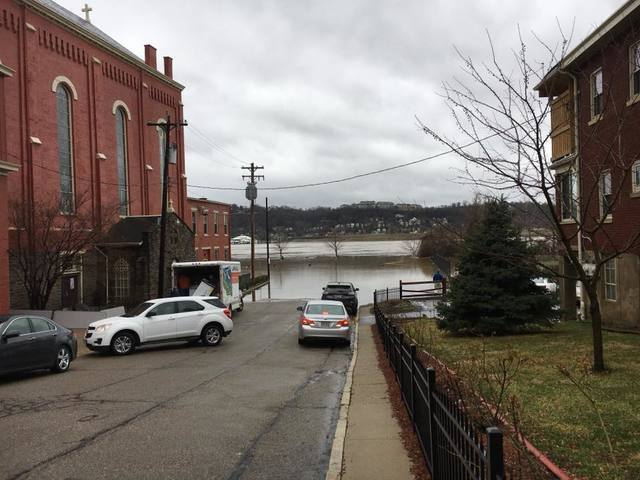 Rising floodwaters across the Tri-State