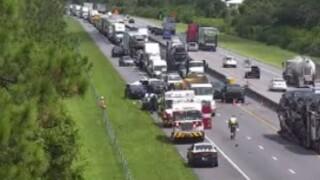A deadly crash on Florida's Turnpike, south of Martin Downs Boulevard, on Aug. 2, 2021.jpg