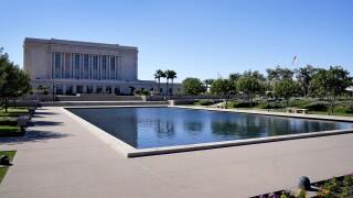 Mormon Temple Mesa