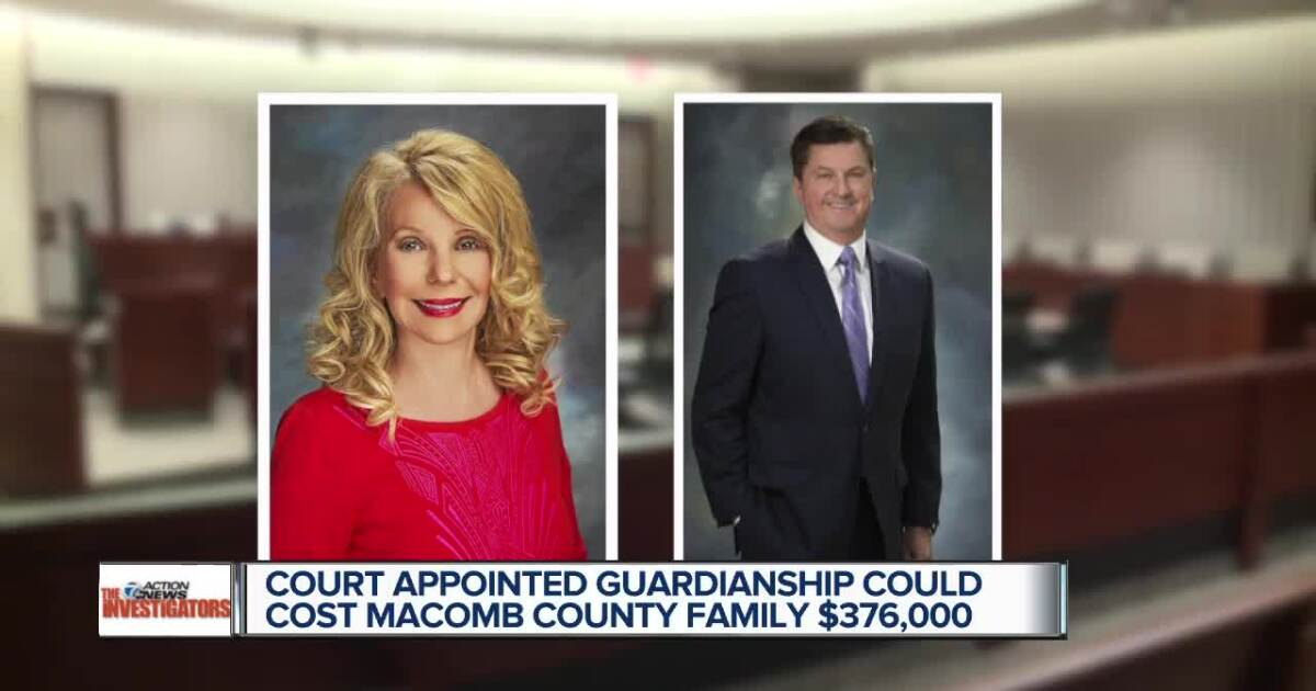 Court appointed guardianship could cost Macomb County family $376,000